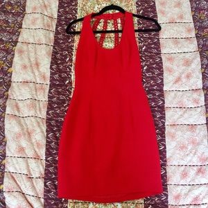 Nicole Miller Bodycon Red Dress